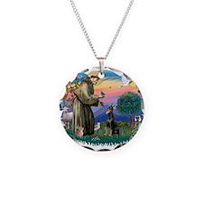 St.Francis #2/ Dobie (cropped Necklace