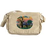 St.Francis #2/ Dobie (cropped Messenger Bag