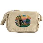 St.Francis #2/ Eng Bull (W-Br Messenger Bag