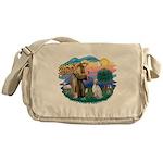 St.Francis #2/ English Set. Messenger Bag