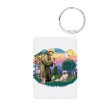 St.Francis #2/ Tibetan Span Keychains