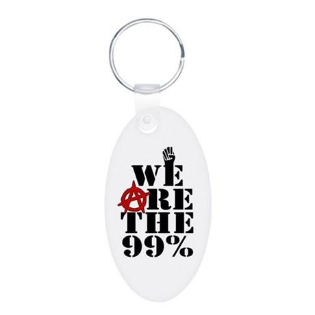 We Are The 99% -- Occupy Wall Street Aluminum Oval