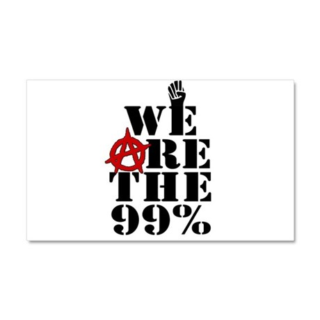 We Are The 99% -- Occupy Wall Street Car Magnet 20