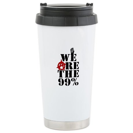 We Are The 99% -- Occupy Wall Street Stainless Ste