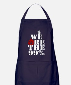 We Are The 99% -- Occupy Wall Street Apron (dark)