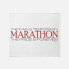 Marathon - Pride is Forever Throw Blanket