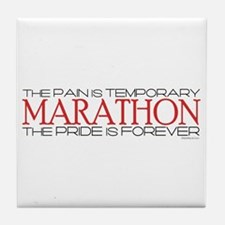Marathon - Pride is Forever Tile Coaster
