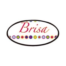 Brisa with Flowers Patches