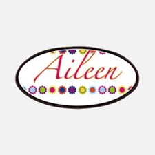 Aileen with Flowers Patches