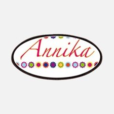 Annika with Flowers Patches