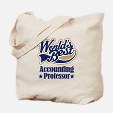 Accounting Professor Gift (Worlds Best) Tote Bag