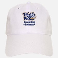 Accounting Professor Gift (Worlds Best) Baseball Baseball Cap