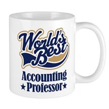 Accounting Professor Gift (Worlds Best) Mug