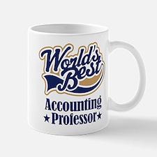 Accounting Professor Gift (Worlds Best) Mug