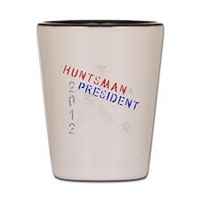 Huntsman 4 President Shot Glass
