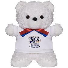 Business Professor Gift Teddy Bear