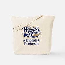 English Professor Gift Tote Bag