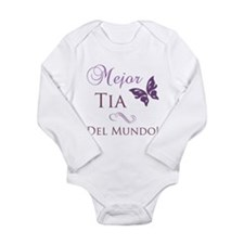 Best Aunt Long Sleeve Infant Bodysuit