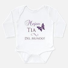 Best Aunt Long Sleeve Infant Bodysuit