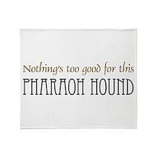 NTG-Pharoah Hound Throw Blanket