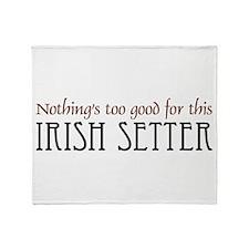 NTG-Irish Setter Throw Blanket