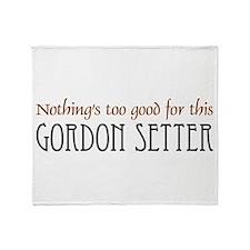 NTG-Gordon Setter Throw Blanket