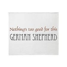 NTG-German Shepherd Throw Blanket