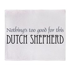 NTG-Dutch Shepherd Throw Blanket