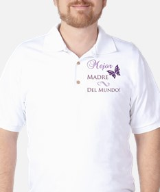World's Best Mother Golf Shirt