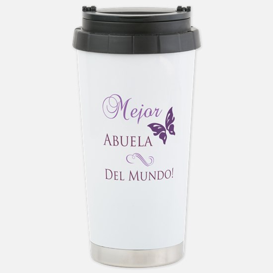World's Best Grandma Stainless Steel Travel Mug