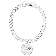 World's Best Grandma Charm Bracelet, One Charm