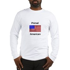 Primal American Long Sleeve T-Shirt