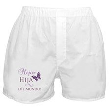 World's Best Daughter Boxer Shorts