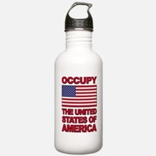 Occupy The United States of America Water Bottle