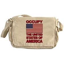 Occupy The United States of America Messenger Bag