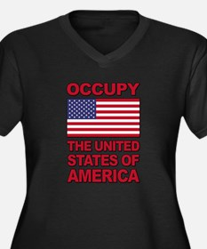 Occupy The United States of America Women's Plus S