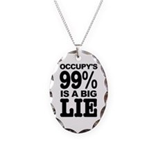 Occupy's 99% is a Big Lie Necklace