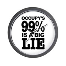 Occupy's 99% is a Big Lie Wall Clock