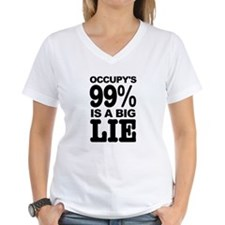 Occupy's 99% is a Big Lie Shirt
