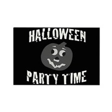 Halloween Party Time Rectangle Magnet
