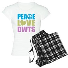 Peace Love DWTS Pajamas
