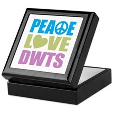 Peace Love DWTS Keepsake Box