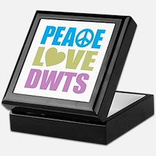Peace Love DWTS Keepsake Box