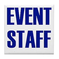 Event Staff Tile Coaster