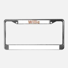 Willie Fiesta License Plate Frame