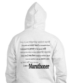 I Am a Marathoner Jumper Hoody