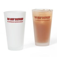 I'm Disturbed Drinking Glass