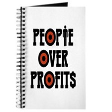 People Over Profits Journal