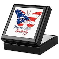 Puerto Rican Butterfly Keepsake Box
