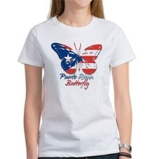 Puerto Rican Butterfly Tee